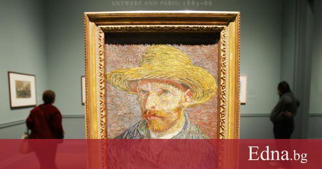 Винсент ван Гoгсе родил в Холандия през 1853 г. Всички