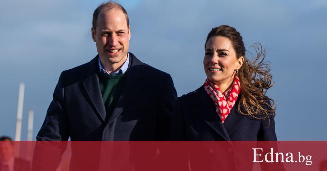 Миналата седмица семейството на принц Уилям и Кейт Мидълтън ни