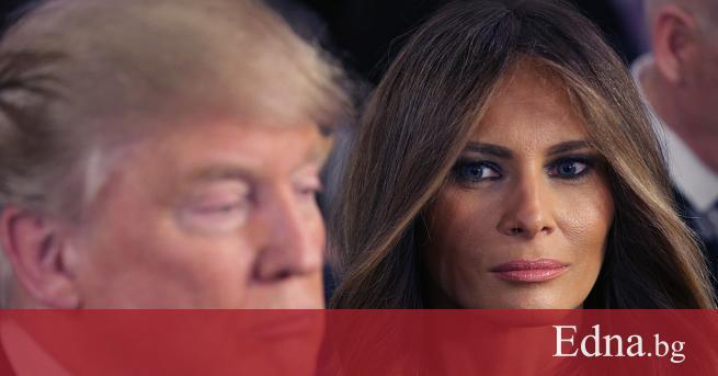 Президентът на САЩ Доналд Тръмп беше заснет как се скара