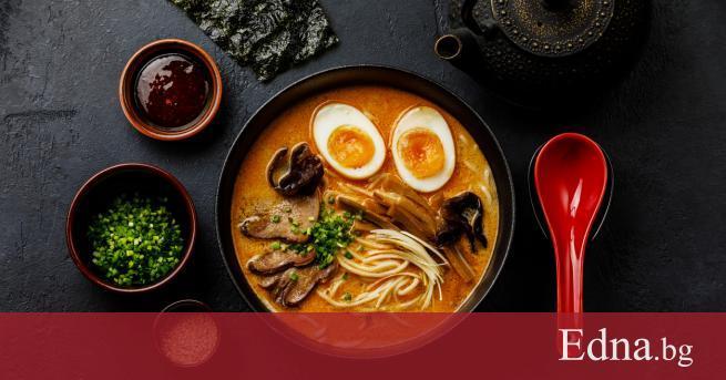 Рамен не е просто супа с нудли. Японската кухня няма