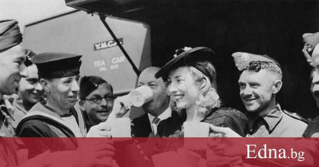 На 103-годишна възраст починабританската певица Вира Лин, получила голяма популярност