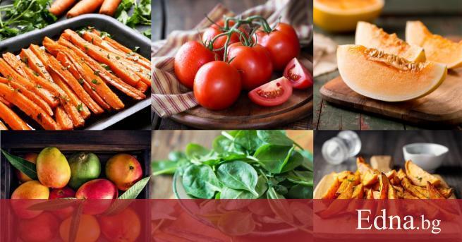 Добавянето на определени плодове и зеленчуци в дневното ни меню