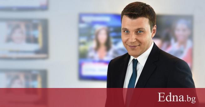 Водещият на новините на NOVA - Христо Калоферов, стана татко.