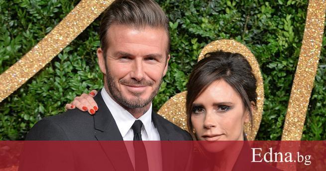 Звездната британска двойка Дейвид и Виктория Бекъм отпразнуваха 21-вата си