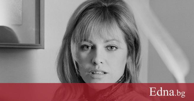 Френската актриса Натали Делон, бивша съпруга на актьора Ален Делон,