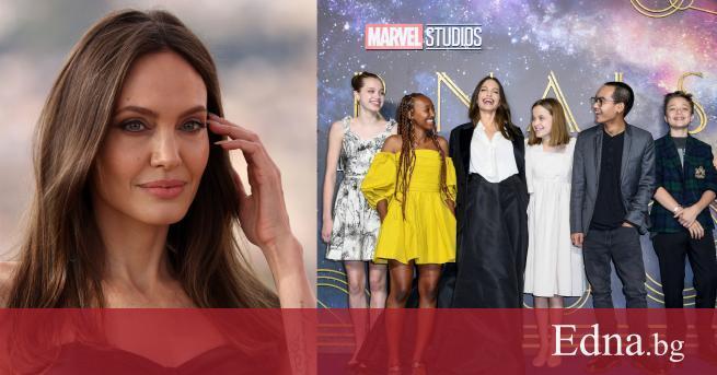 Анджелина Джоли продължава да блести покрай промотирането на новия си