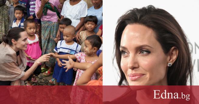 Моментът, който всички фенове на Анджелина Джоли очакваха - любимата