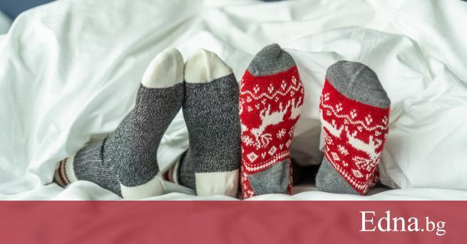 Двойките често спорят засексапила на чорапите в леглото, но специалисти