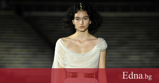 Един от най-успешните български модели в чужбина Белослава Хинова отново