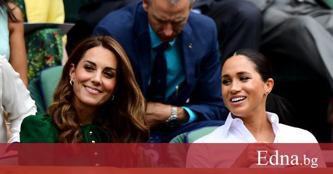 Херцогинята на Кеймбридж и херцогинята на Съсекс може да се