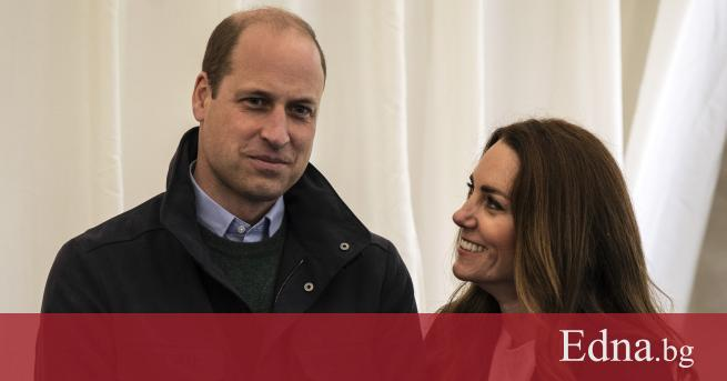 Херцогът и херцогинята на Кеймбридж се върнаха в колежанския град,