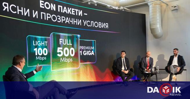 Иновативната телевизионна услуга EON променя потребителското поведение и навици и