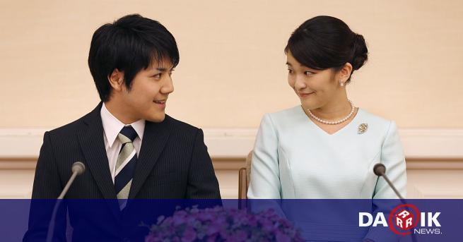 Японската принцеса Мако се омъжи за своя избраник Кей Комуро,