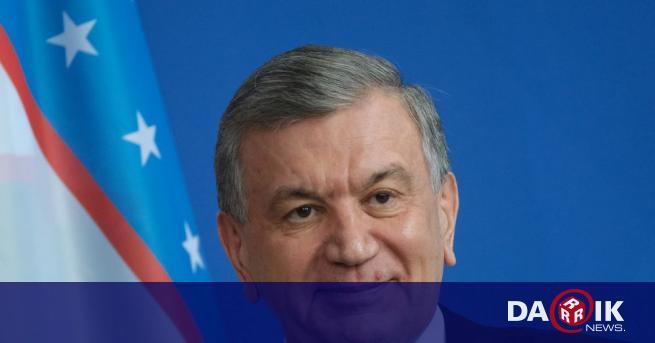 Президентът на Узбекистан - Шавкат Мирзийоев,спечели втори петгодишен мандат, според