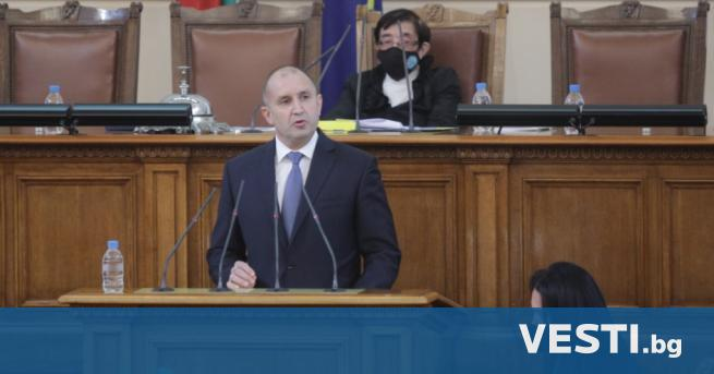 П резидентът Румен Радев ще проведе консултации с представители на