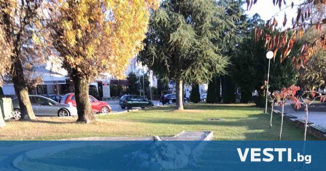 аметникът на брега на Охридското езеро, който бе открит в