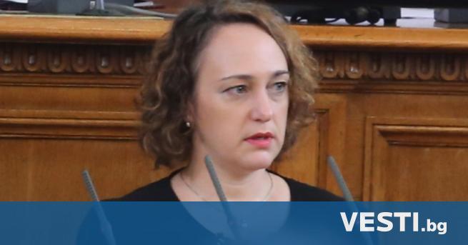 """ародният представител от """"БСП за България"""" Анна Славова е дала"""