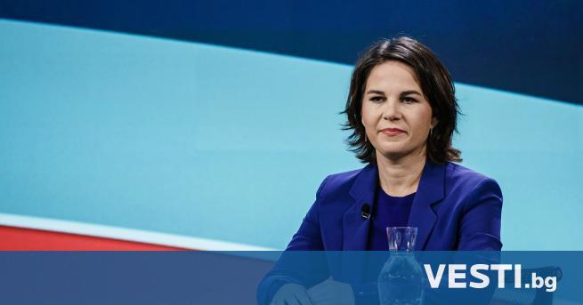 К андидатът за канцлер на германските Зелени Аналена Бербок, в