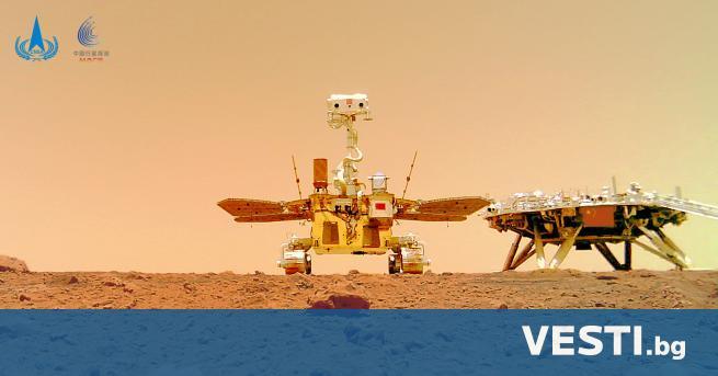 К итайската национална космическа агенция публикува нови снимки на своя