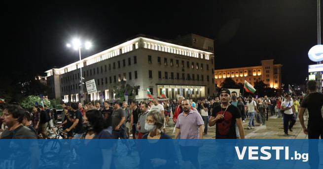 едоволни граждани за 73-ти пореден ден се събираха на протест