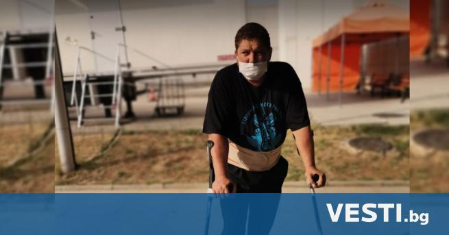 П реди години Николай, млад мъж с увреждания от Нови