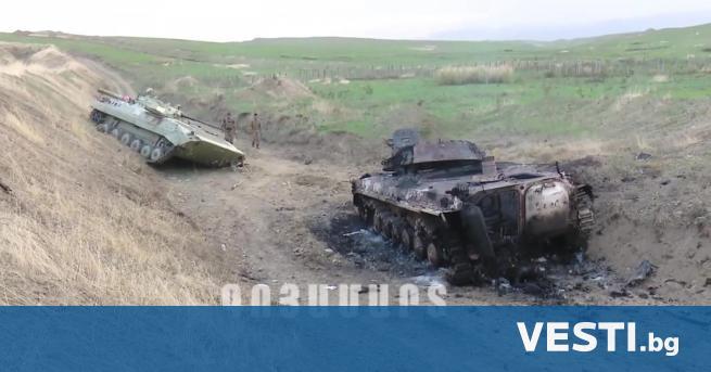 нтензивните военни действия между арменските и азербайджанските сили продължиха и