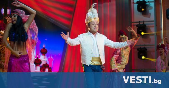 Л юбимият водещ Димитър Рачков отведе зрителите на NOVA на
