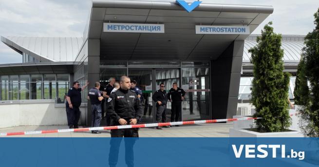 П родължава разследването на стрелбата в столичното метро. 63-годишен мъж