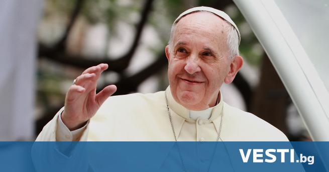 П апа Франциск поздрави православните християни за Великден, който се