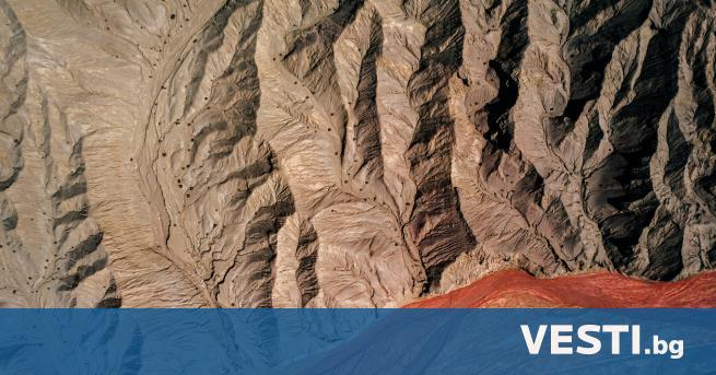 В мистериозна пирамида в китайската провинция в Централен Китай -