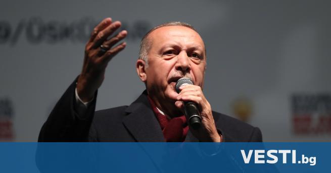резидентът на Турция Реджеп Ердоган заяви в събота, че френският