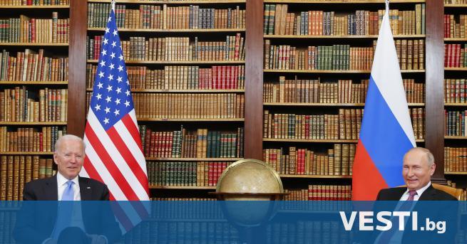 П резидентите на Русия и САЩ Владимир Путин и Джо
