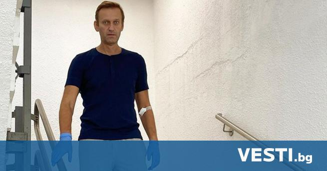 ерманският канцлер Ангела Меркел посети руския опозиционен лидер Алексей Навални,