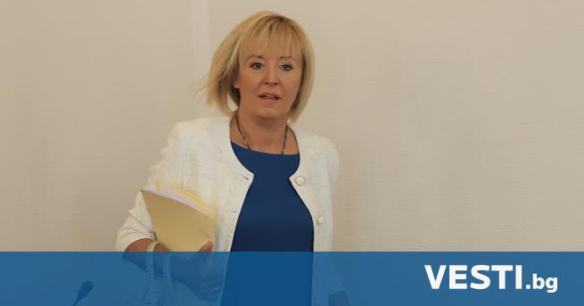 """П редседателят на гражданската платформа """"Изправи се.БГ"""" Мая Манолова заяви"""