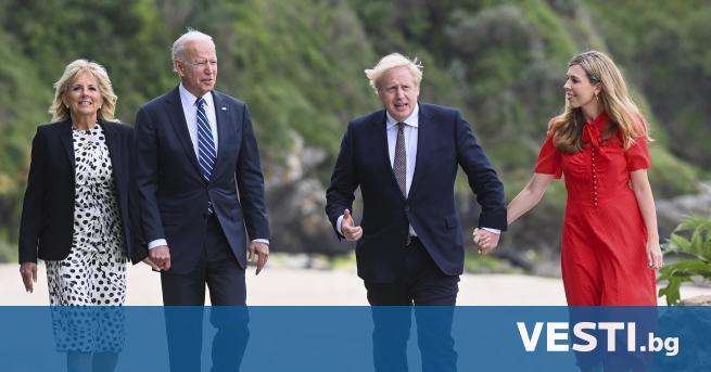 П резидентът на САЩ Джо Байдън и британският премиер Борис