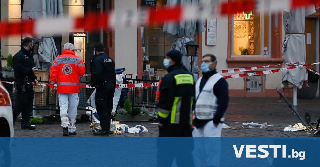 ерманската полиция съобщи, че загиналите в град Трир, след като