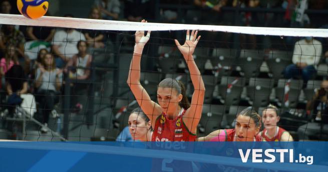 В олейболистките от националния отбор победиха Хърватия във финала на