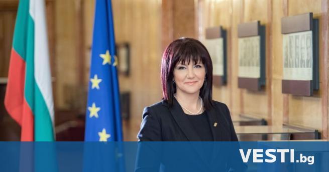 редседателят на 44-ото Народно събрание Цвета Караянчева покани европейските институции
