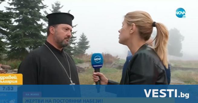 """андали посегнаха на манастир в столичния квартал """"Илиянци"""". Счупени са"""