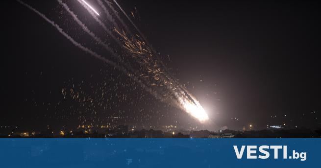 О коло 150 ракети са били изстреляни вчера от ивицата