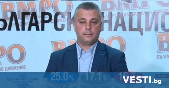 Л идерът на ВМРО Красимир Каракачанов допусна, че нови избори