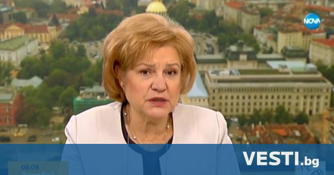 редседателят на бюджетната комисия в парламента Менда Стоянова защити предложения
