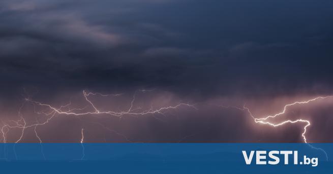 Оранжев код за опасно време в сряда, вижте кои региони – България