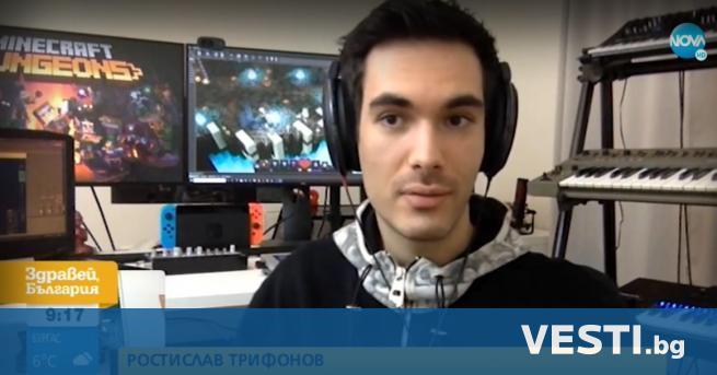 З вуков дизайнер от България е единственият българин в екипа