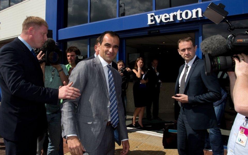 Мартинес обещал Шампионска лига на Евертън