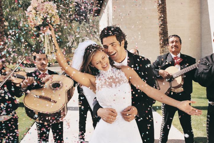 сватба двойка брак
