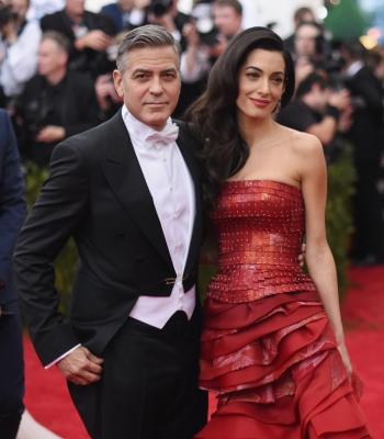 Джордж Клуни и Амал