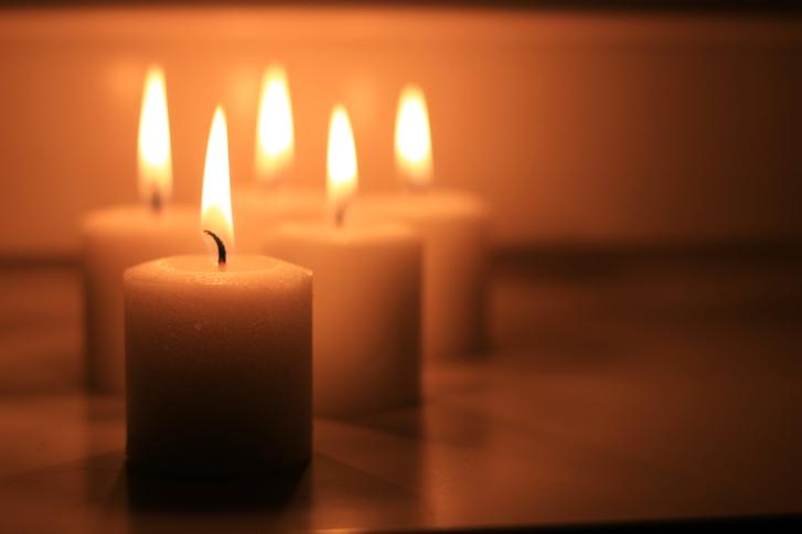 църква свещ вяра