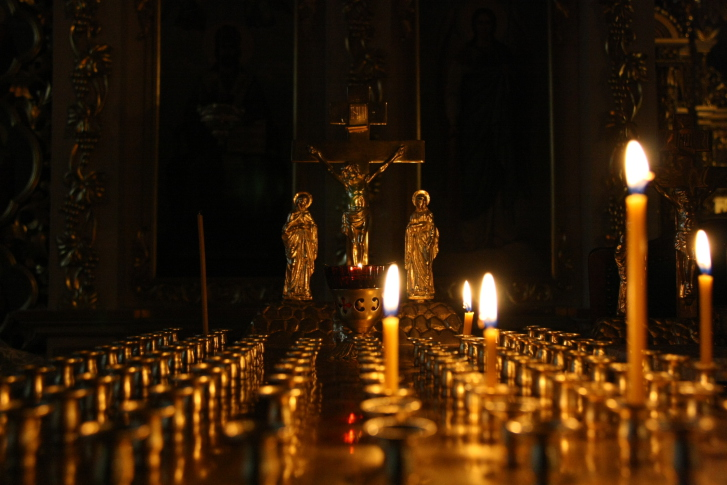 Великден вяра свещ свещи
