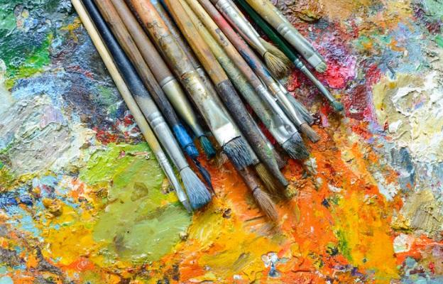 арт изкуство бои четки